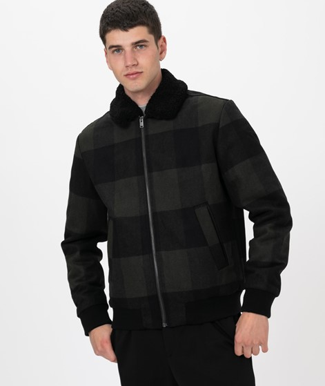 SELECTED HOMME SLHUni Woll Bomber Jacke