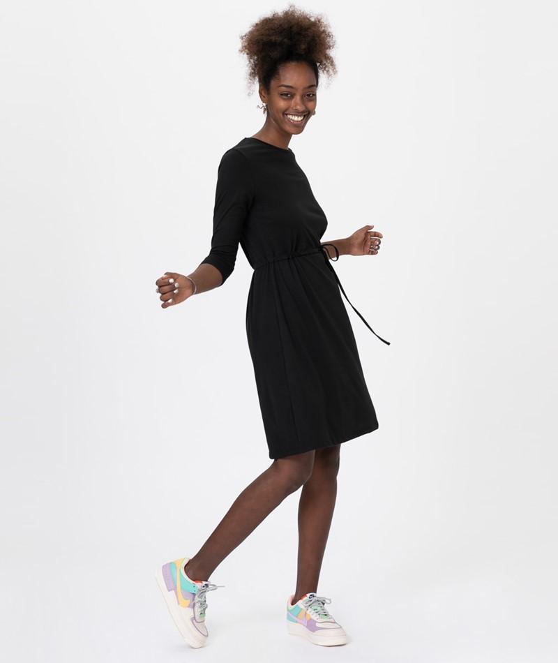 VILA VILikan 3/4 Sleeve Kleid black