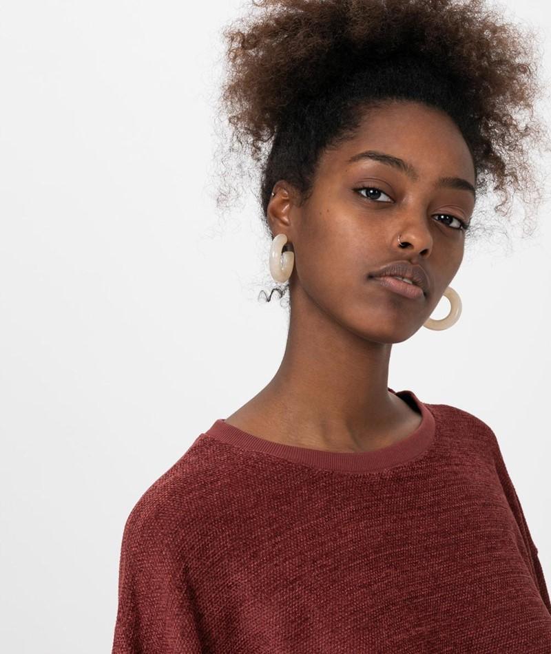 KAUF DICH GLÜCKLICH Sweater marsala