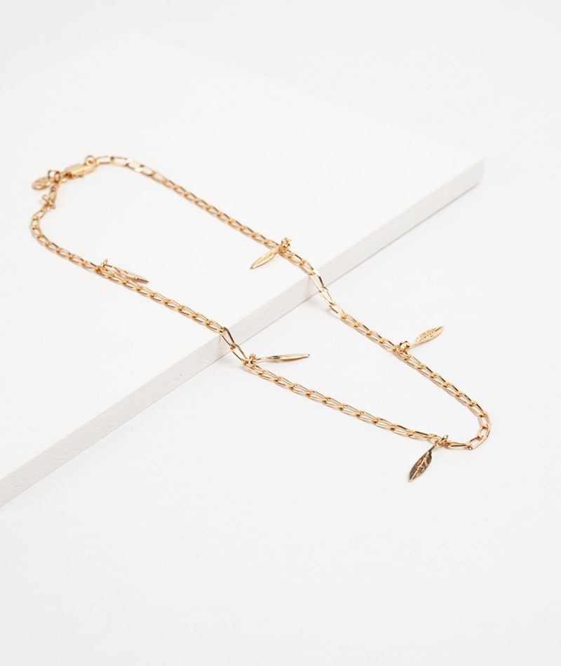 TOODREAMY Thousand Times Feather Kette