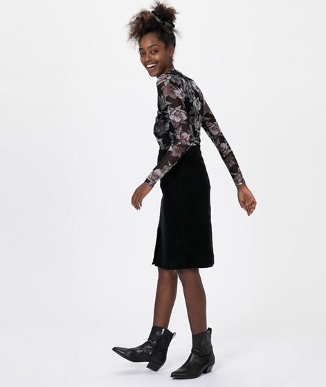 JUST FEMALE Jane Midi Skirt Black