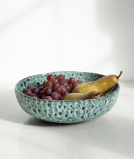 MADAM STOLTZ Stoneware Serving Bowl