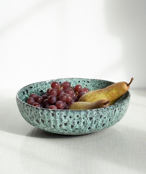 MADAM STOLTZ Stoneware Serving Bowl