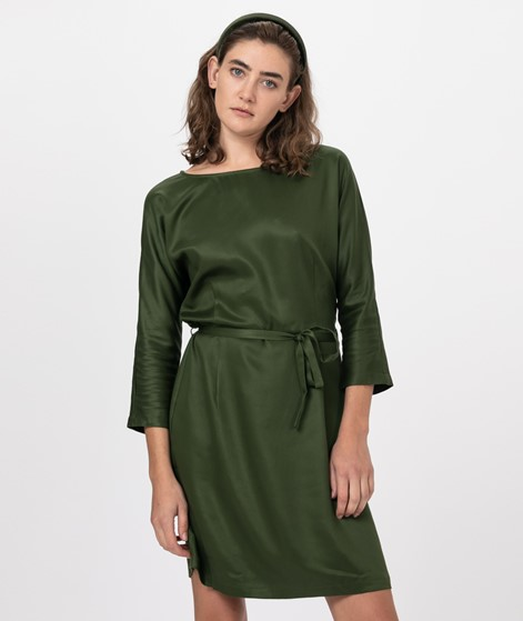 ANOTHER LABEL Lynch Dress L/S rifle gree