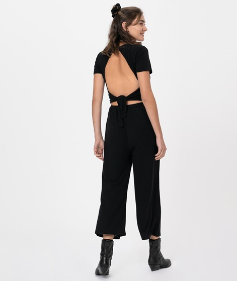 MINKPINK Open Back Overall black