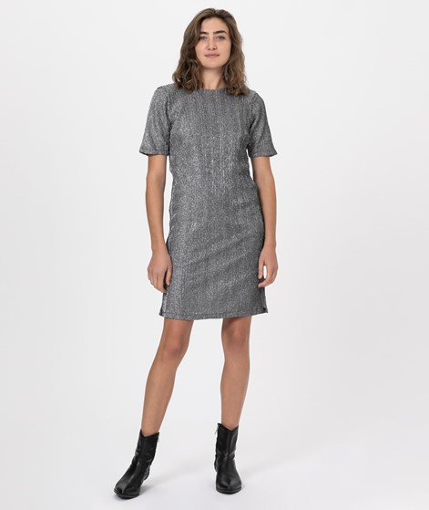 MOVES BY MINIMUM Tikla Kleid silver