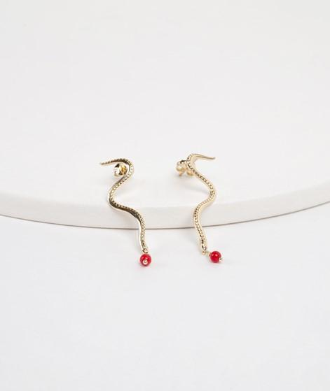 ANNA + NINA Serpent Ohrringe gold