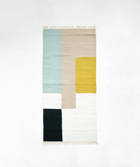 FERM LIVING Kelim Runner- Squares 180x70