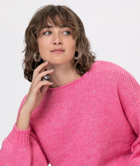 VILA VIDaya L/S  Pullover rapsberry