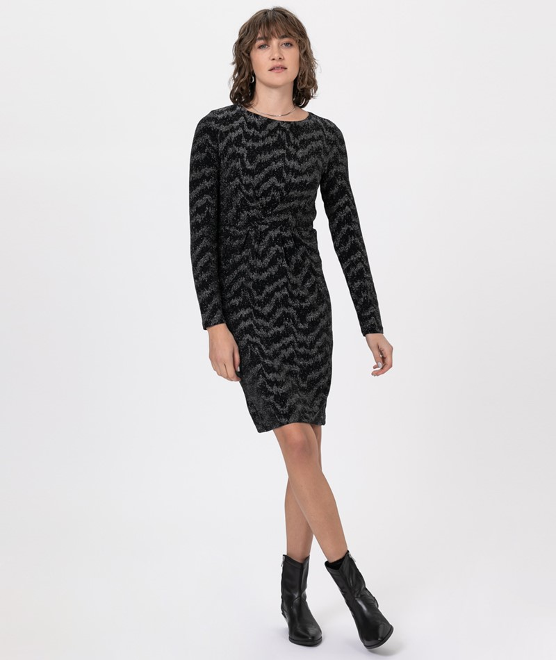 VILA VIWipy L/S Kleid black