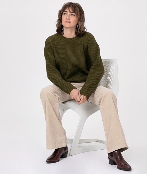 M BY M Kailynn Constin Pullover olive