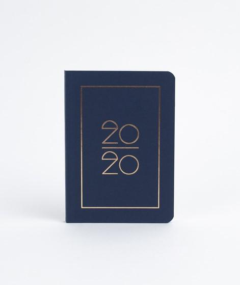 NAVUCKO Taschenkalender / Diary 2020 navy