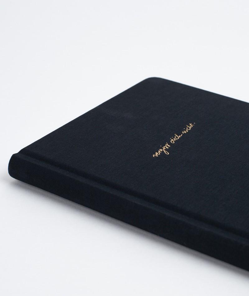 NAVUCKO Notebook Hardcover Vergiss