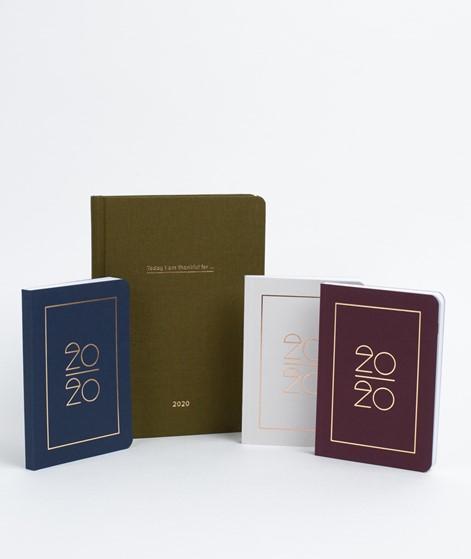 NAVUCKO Hardcover Kalender Typo 2020