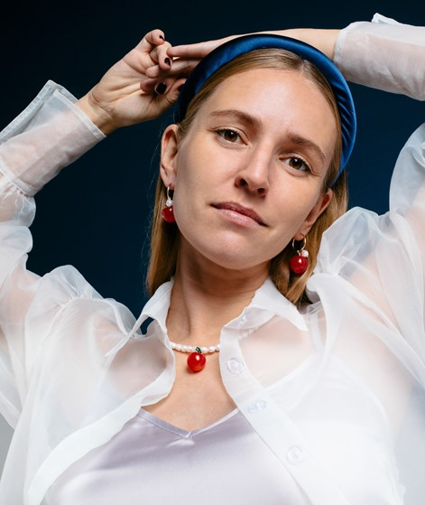 JANE WAYNE x EBBA Sunna Ohrringe Apfel