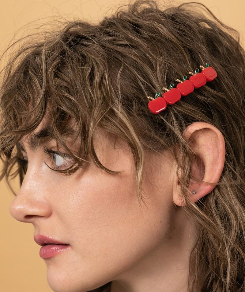 JANE WAYNE x EBBA Aurora Hairclip Apfel