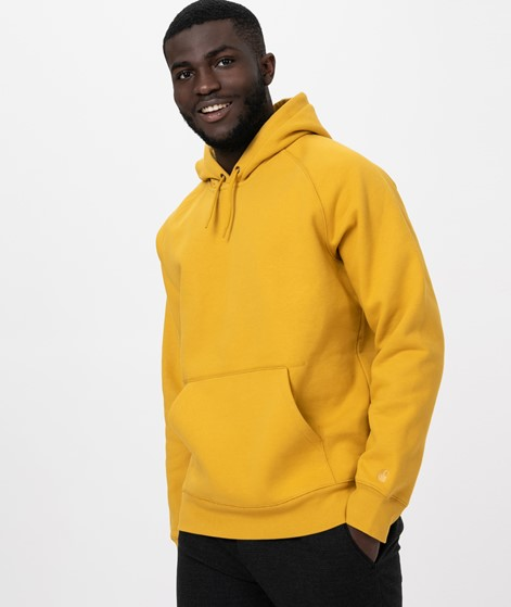 CARHARTT Hooded Chase Sweat colza/ gold