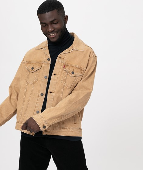 LEVIS The Virgil Trucker Jacke desert
