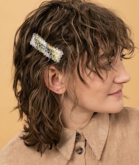 JANE WAYNE x EBBA Juno Hairclip Streifen