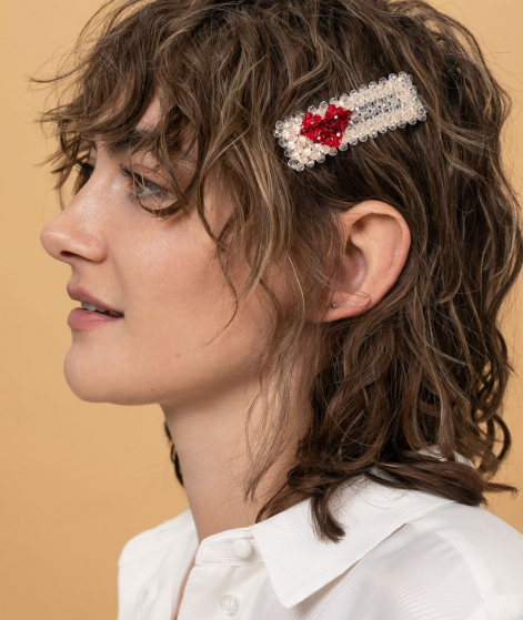 JANE WAYNE x EBBA Tara Hairclip Herz