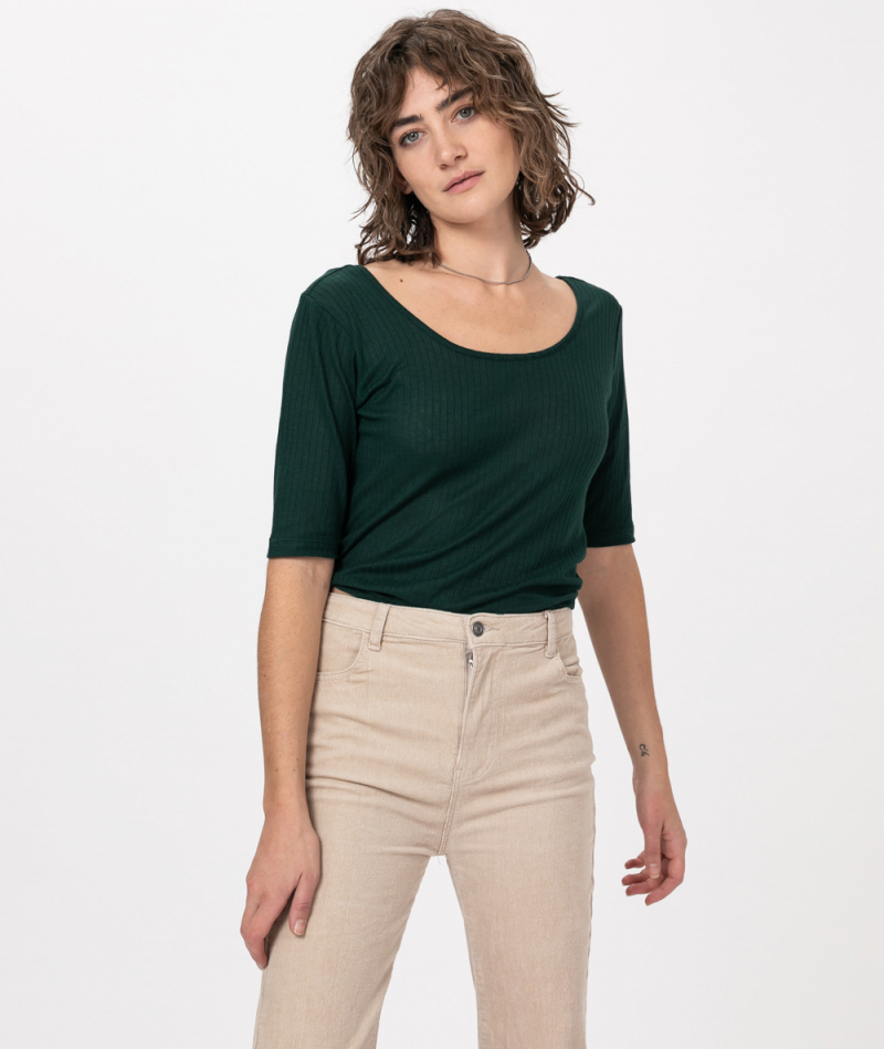 KAUF DICH GLÜCKLICH T-Shirt opal green