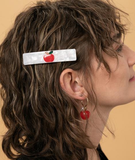 JANE WAYNE x EBBA Lilith Hairclip Apfel