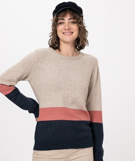 VILA VIRil Block L/S O-Neck Pullover
