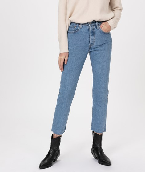 LEVIS 501 Crop Jeans tango beats
