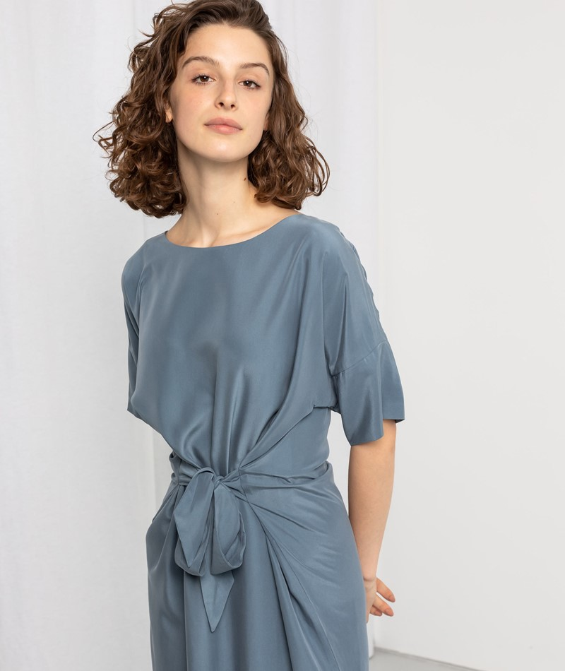 KAUF DICH GLÜCKLICH Kleid blau