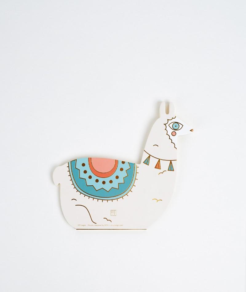 DOIY Oversized Notebook Llama