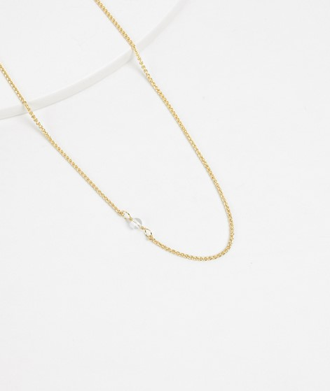 ANNA + NINA White Quartz Short Kette