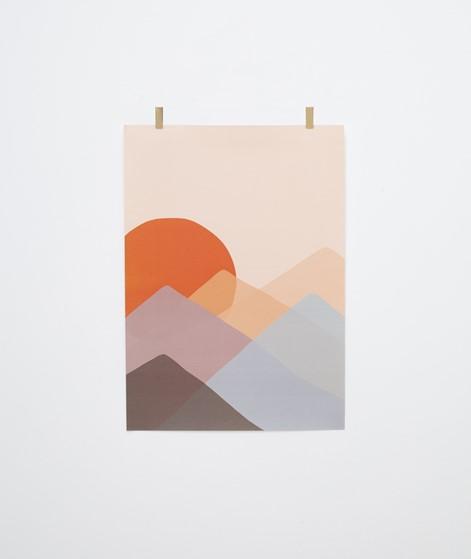 KAUF DICH GLÜCKLICH Poster Sunset
