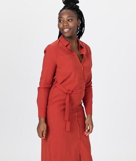 ANOTHER LABEL Aelicia S/S Kleid orange