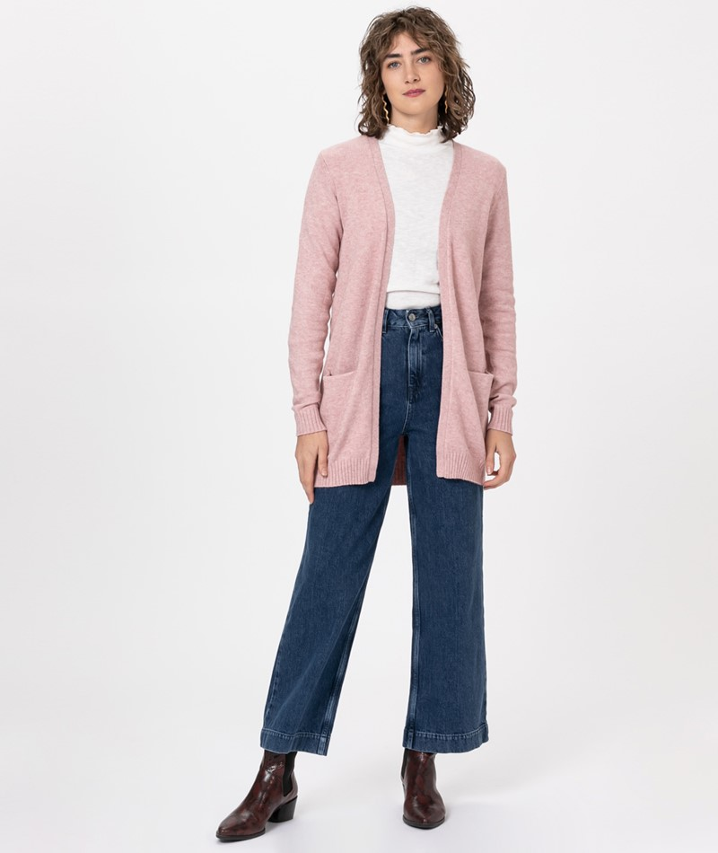 VILA Viril Open Cardigan pale mauve