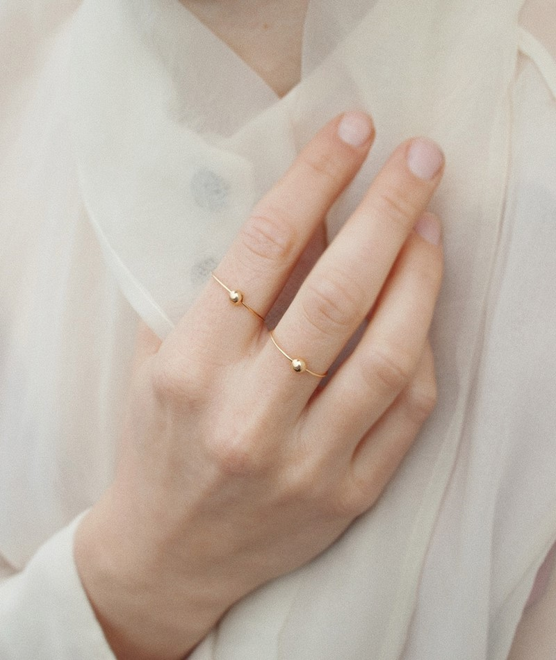 JUKSEREI Venus Ring gold