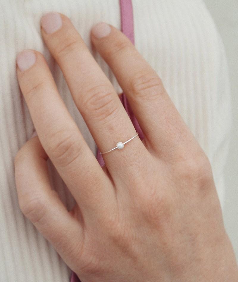 JUKSEREI Stardust Ring silver