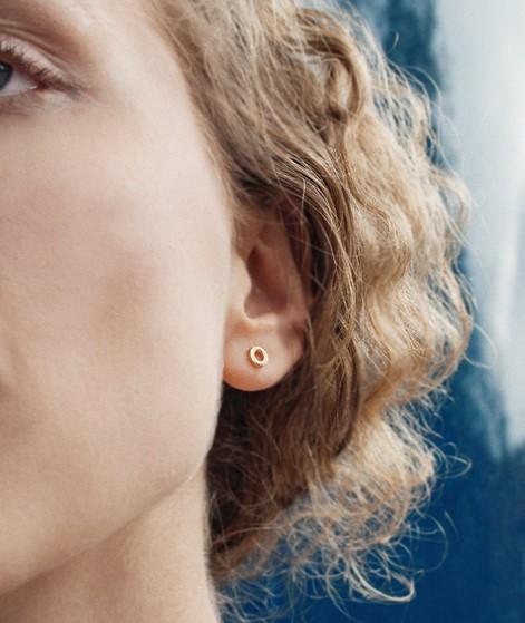 JUKSEREI Tilda Ear Stud Ohrring gold