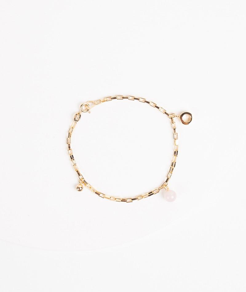 JUKSEREI Charm Bracelet gold rose
