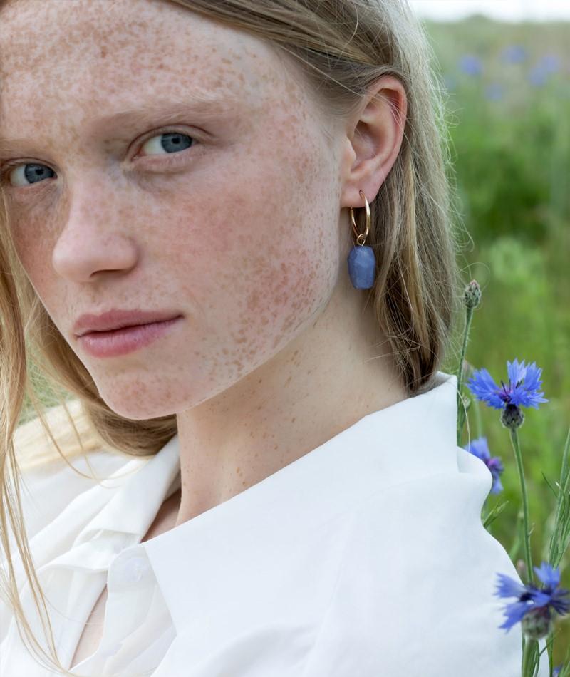 EBBA Ohrringe blau