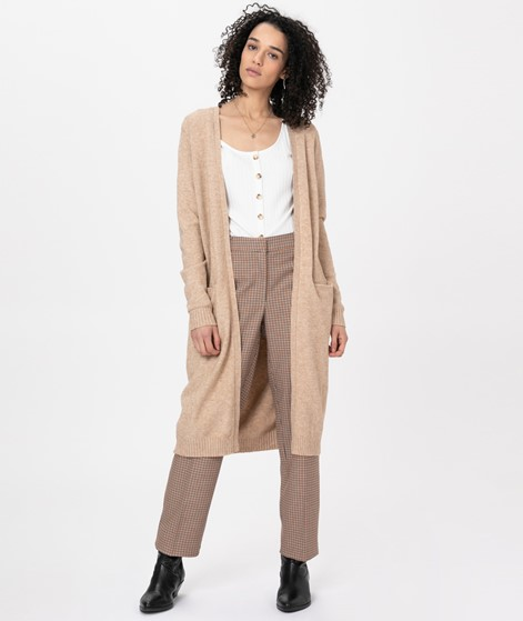 VILA Viril Long Cardigan nomad