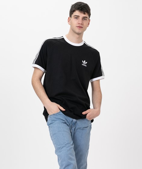 ADIDAS 3-Stripes T-Shirt black