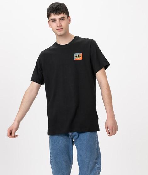 ADIDAS Diag Emb T-Shirt black