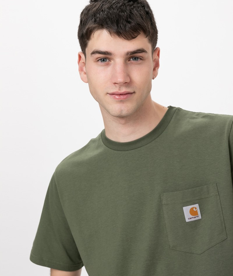 CARHARTT S/S Pocket T-Shirt dollar green