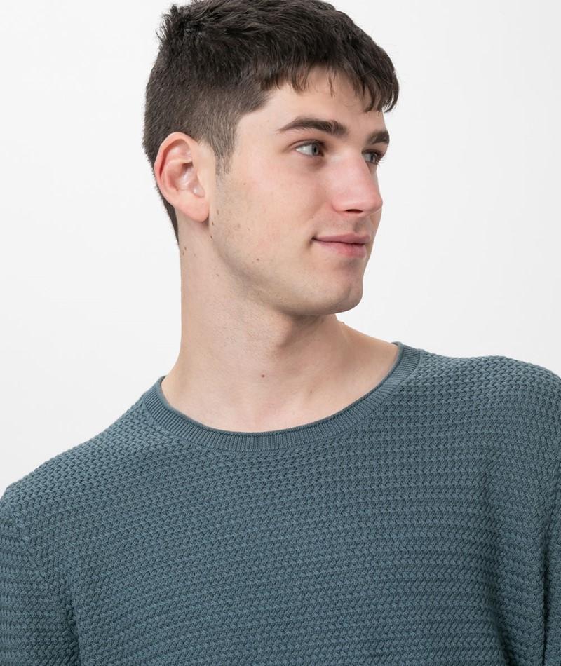 NOWADAYS Basket Stitch Pullover