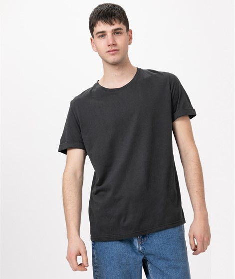 COUDRE BERLIN Rolled Sleeve T-Shirt dark