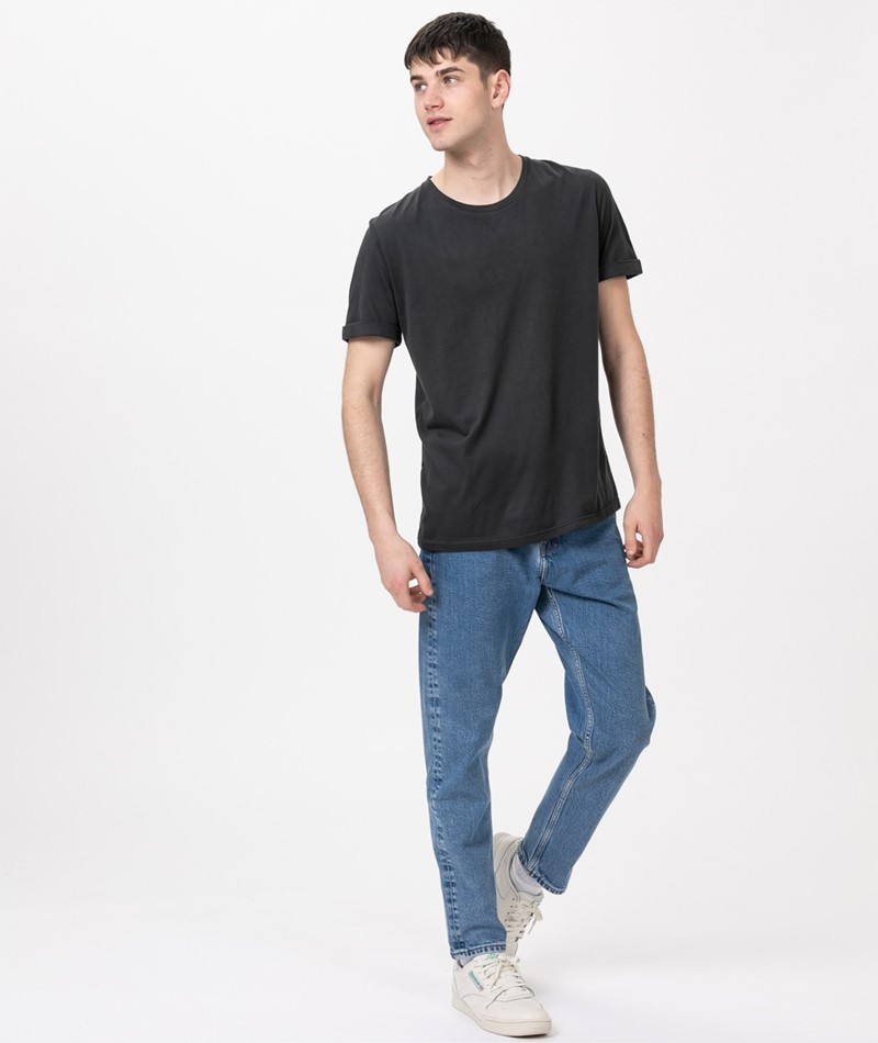COUDRE BERLIN Rolled Sleeve T-Shirt dark