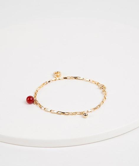 JUKSEREI Charm Bracelet gold red