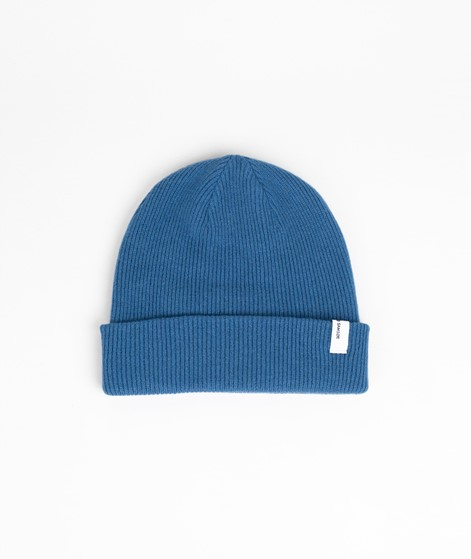SAMSOE SAMSOE The Beanie Mütze blue