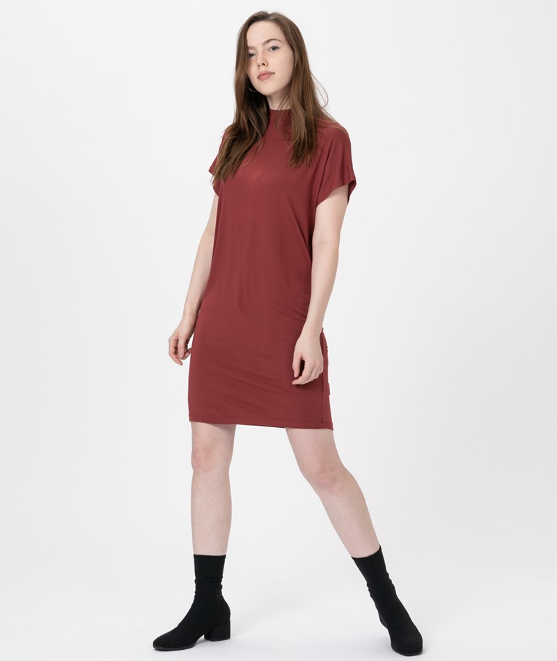 MBYM Linea Kleid russet brown