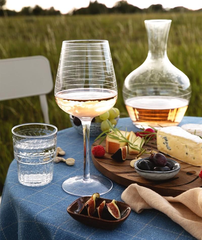 BLOOMINGVILLE Alva Wine Glass clear